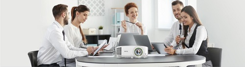 BenQ 's Smart Projector Range for Business offers Effortless Wireless Projection & Video Conferencing Capabilities.