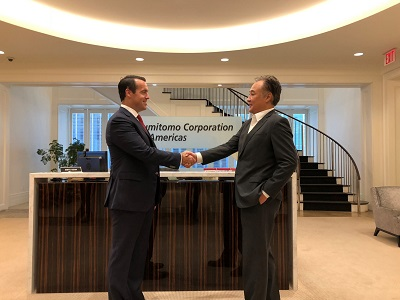 Sumitomo Corporation of Americas Makes Strategic Investment in Sintavia